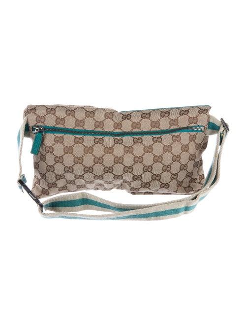 80d4075318f Gucci GG Canvas Waist Bag - Handbags - GUC169842