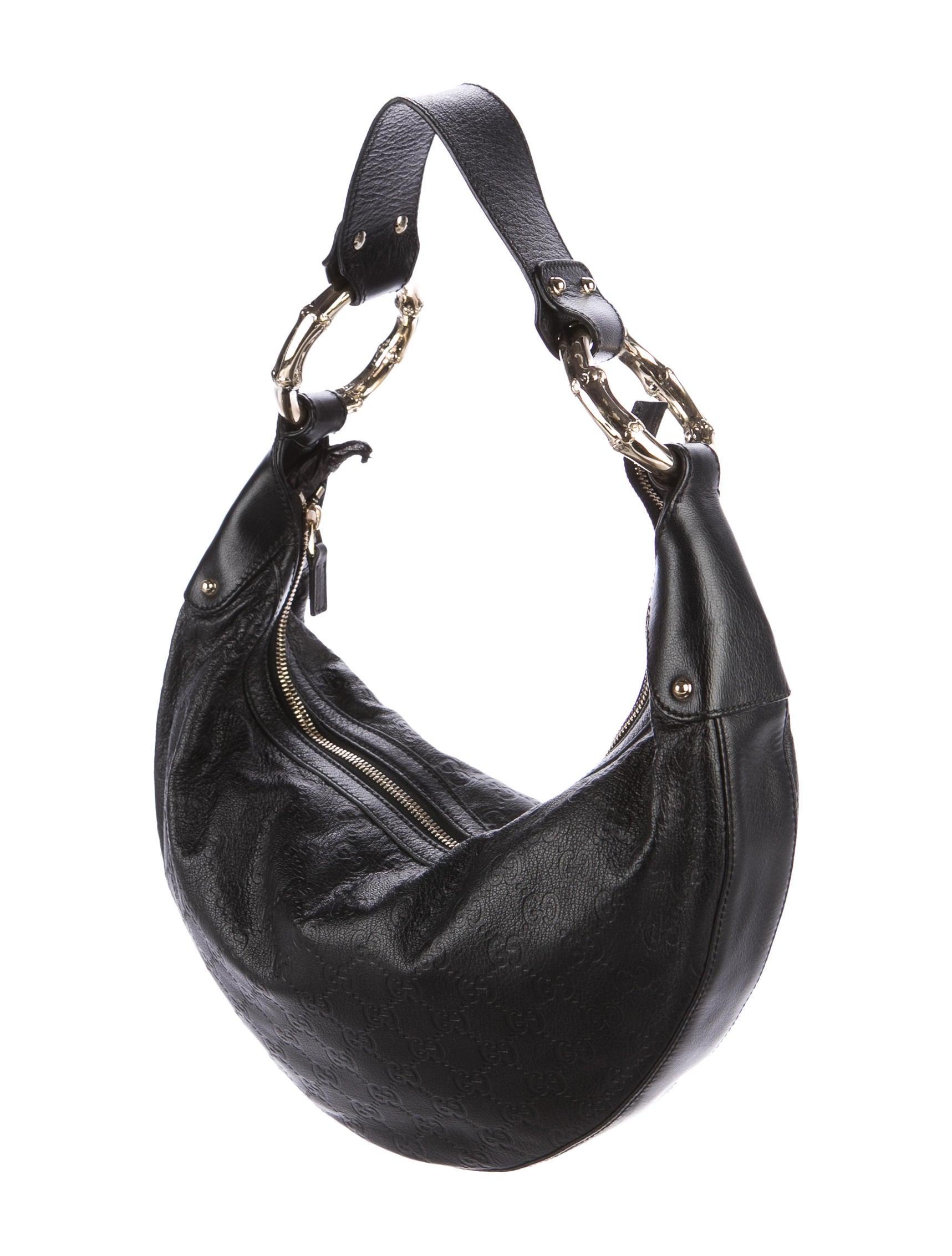 5e38de584880 Gucci Guccissima Leather Half Moon Hobo Bags   Stanford Center for ...