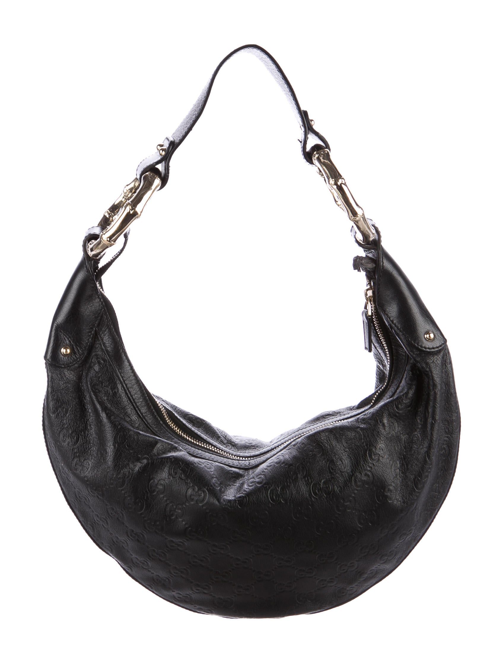 8f48ccca0575c7 Gucci Guccissima Leather Half Moon Hobo Bags | Stanford Center for ...