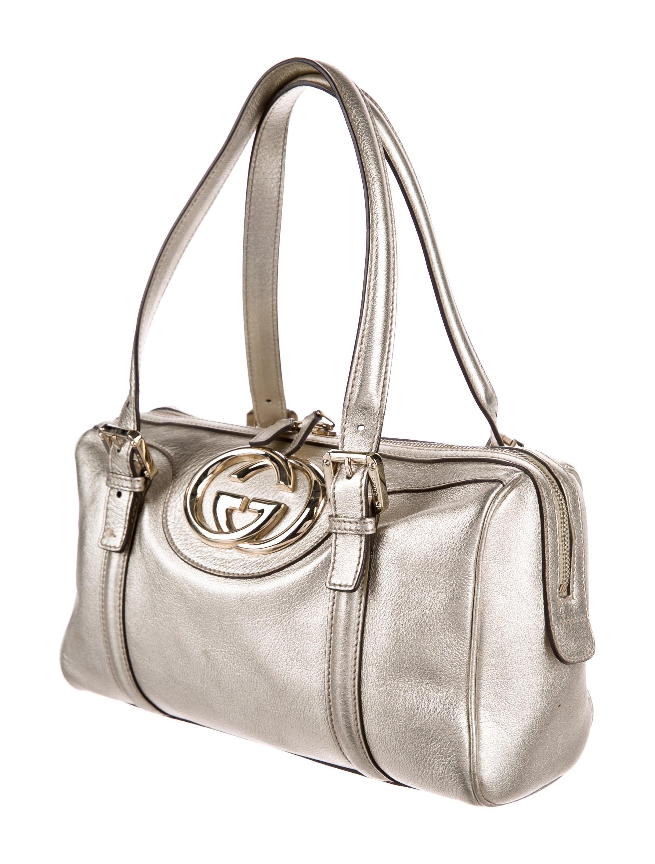 Boston Bag Patchwork Tutorial: Gucci Britt Medium Boston Bag - Handbags - GUC170287