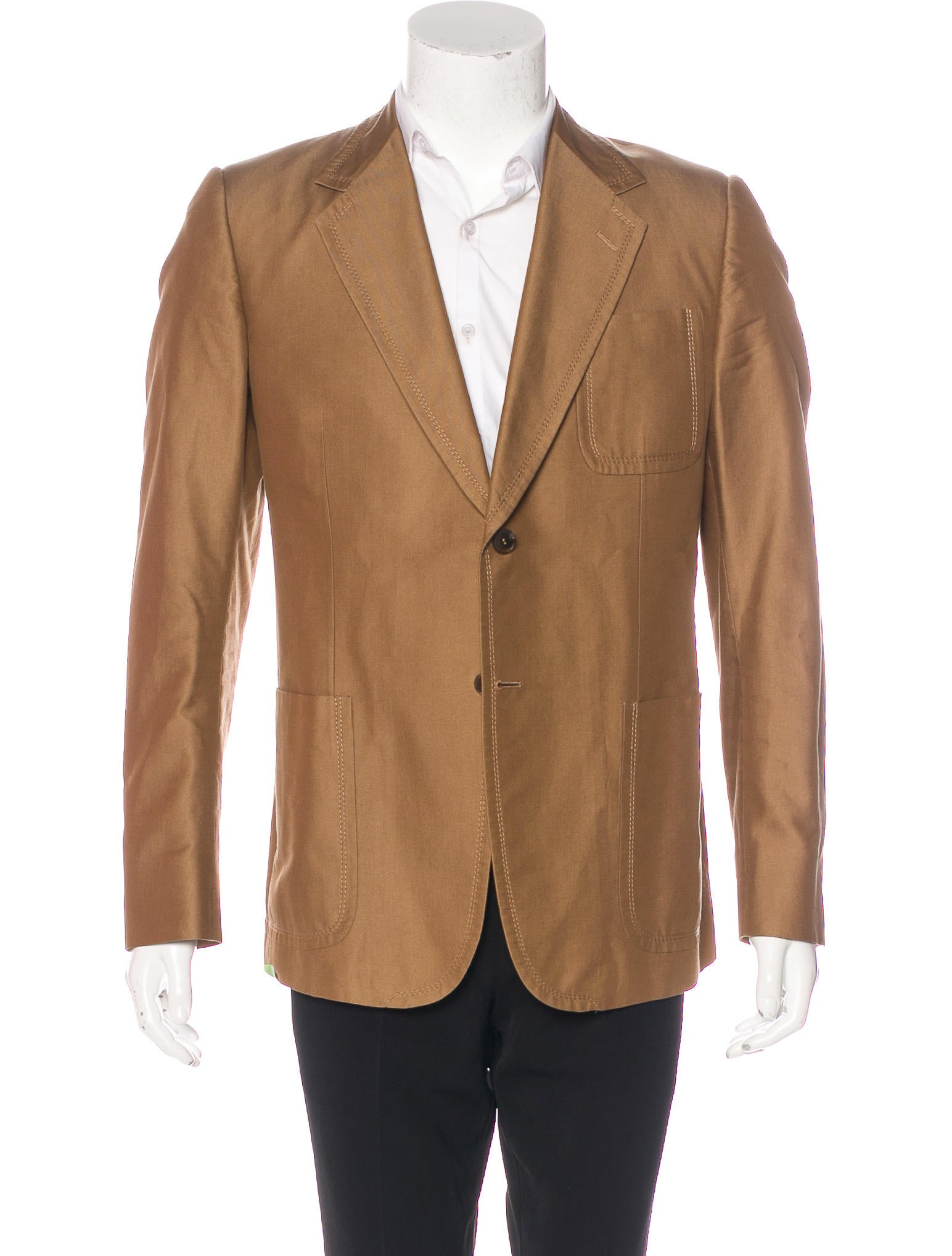 Gucci Silk-Blend Sport Coat - Clothing - GUC171114 | The RealReal