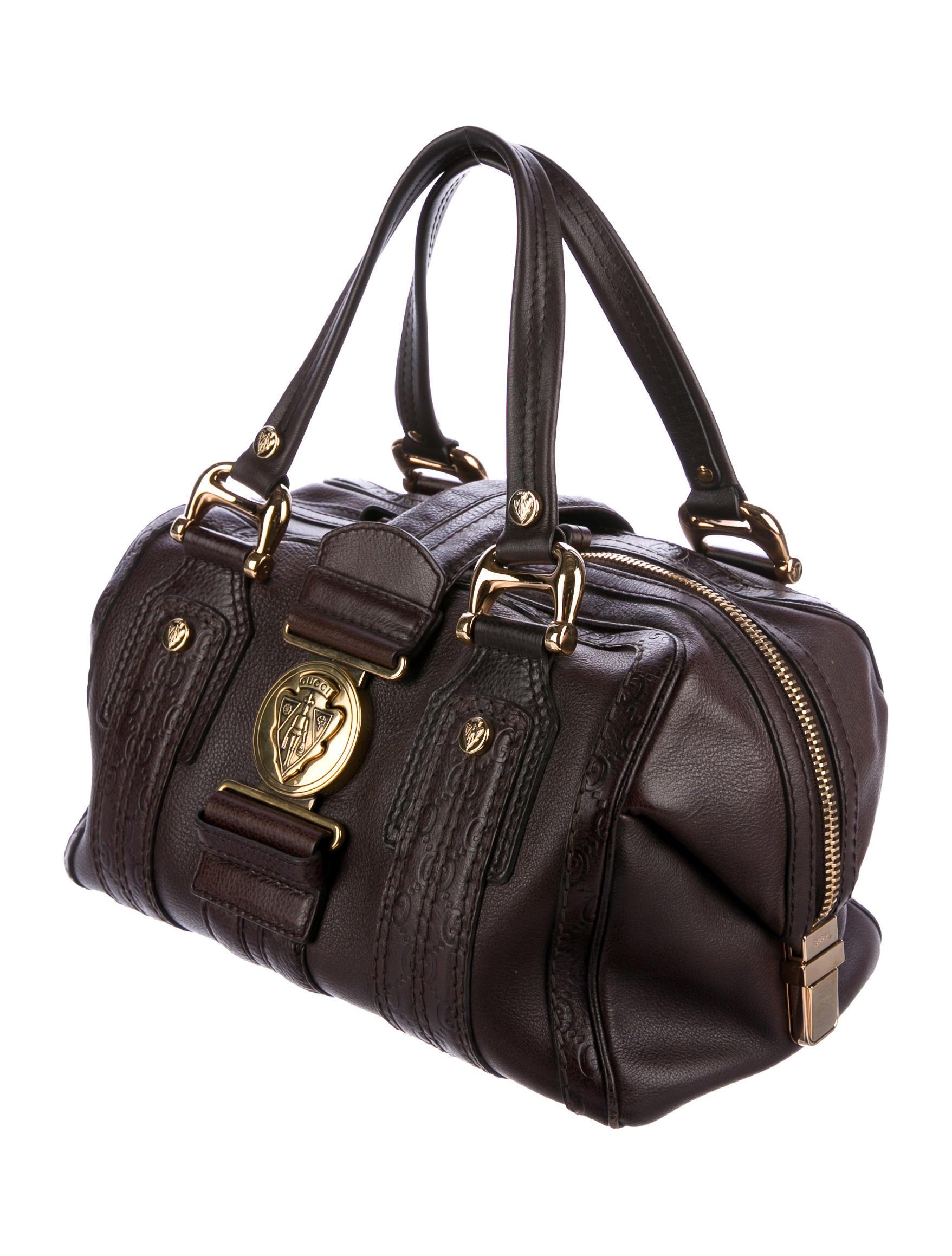 Boston Bag Patchwork Tutorial: Gucci Medium Aviatrix Boston Bag