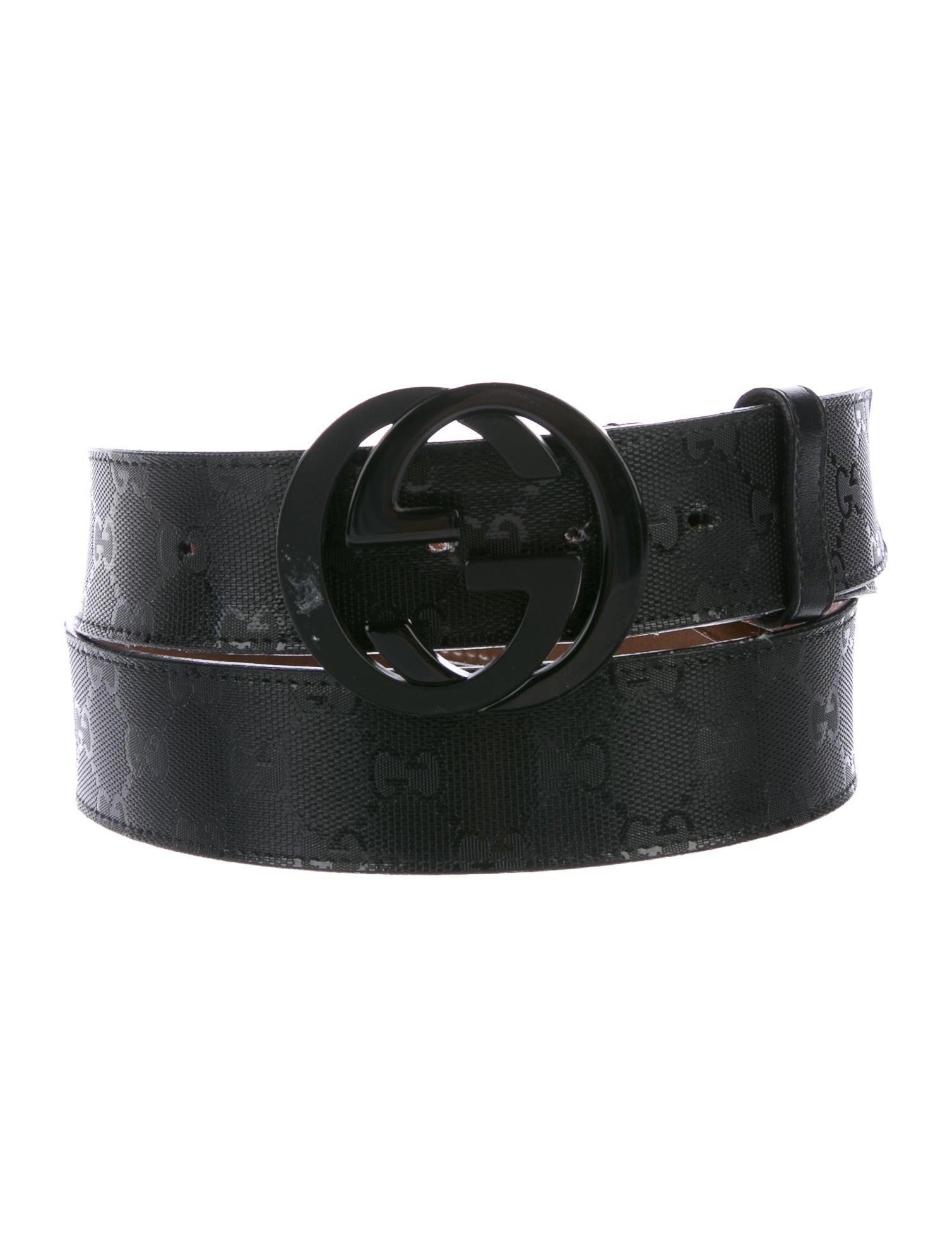 3809118006b Gucci GG Imprimé Belt - Accessories - GUC171800