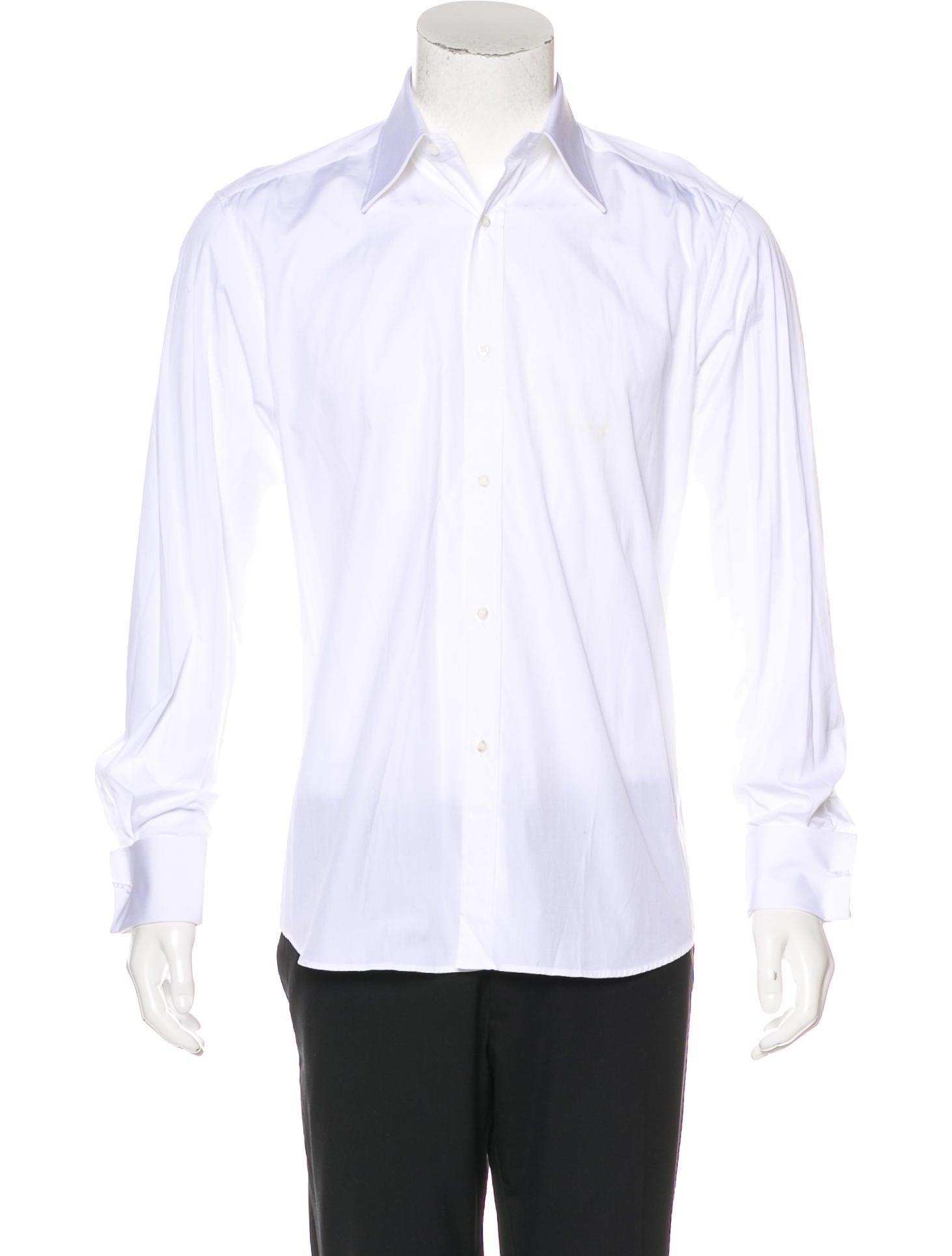 Gucci french cuff dress shirt w tags clothing for Dress shirt french cuffs