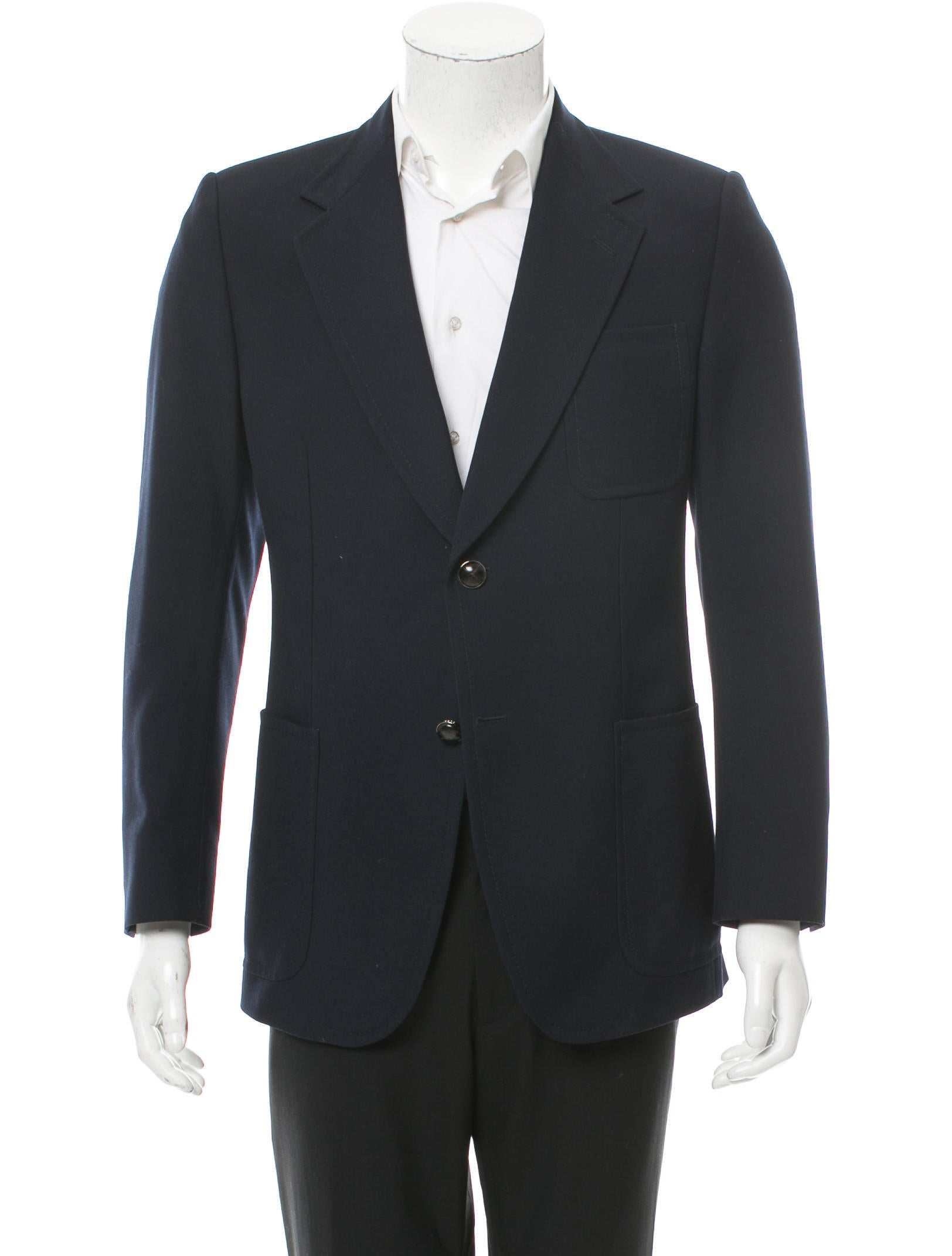 Gucci Silk-Lined Sport Coat - Clothing - GUC172519 | The RealReal