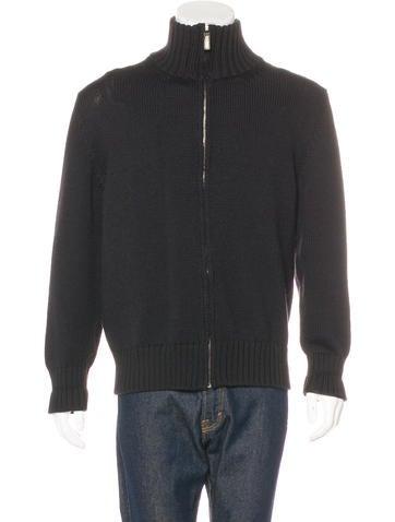 Gucci Wool-Blend Zip Sweater None