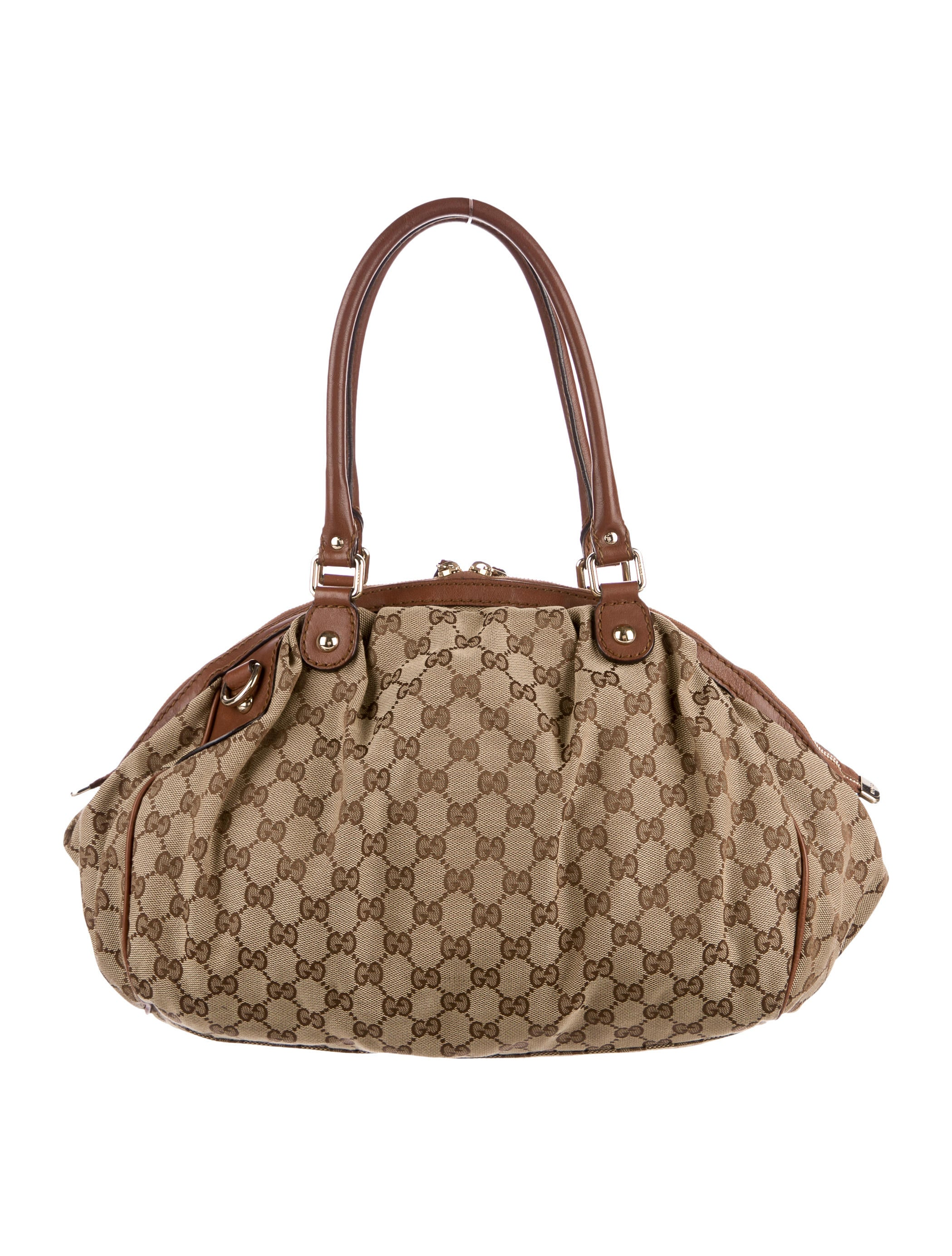 26eac107d5b9 Gucci GG Medium Sukey Boston Bag - Handbags - GUC173581 | The RealReal. Gucci  Orange ...