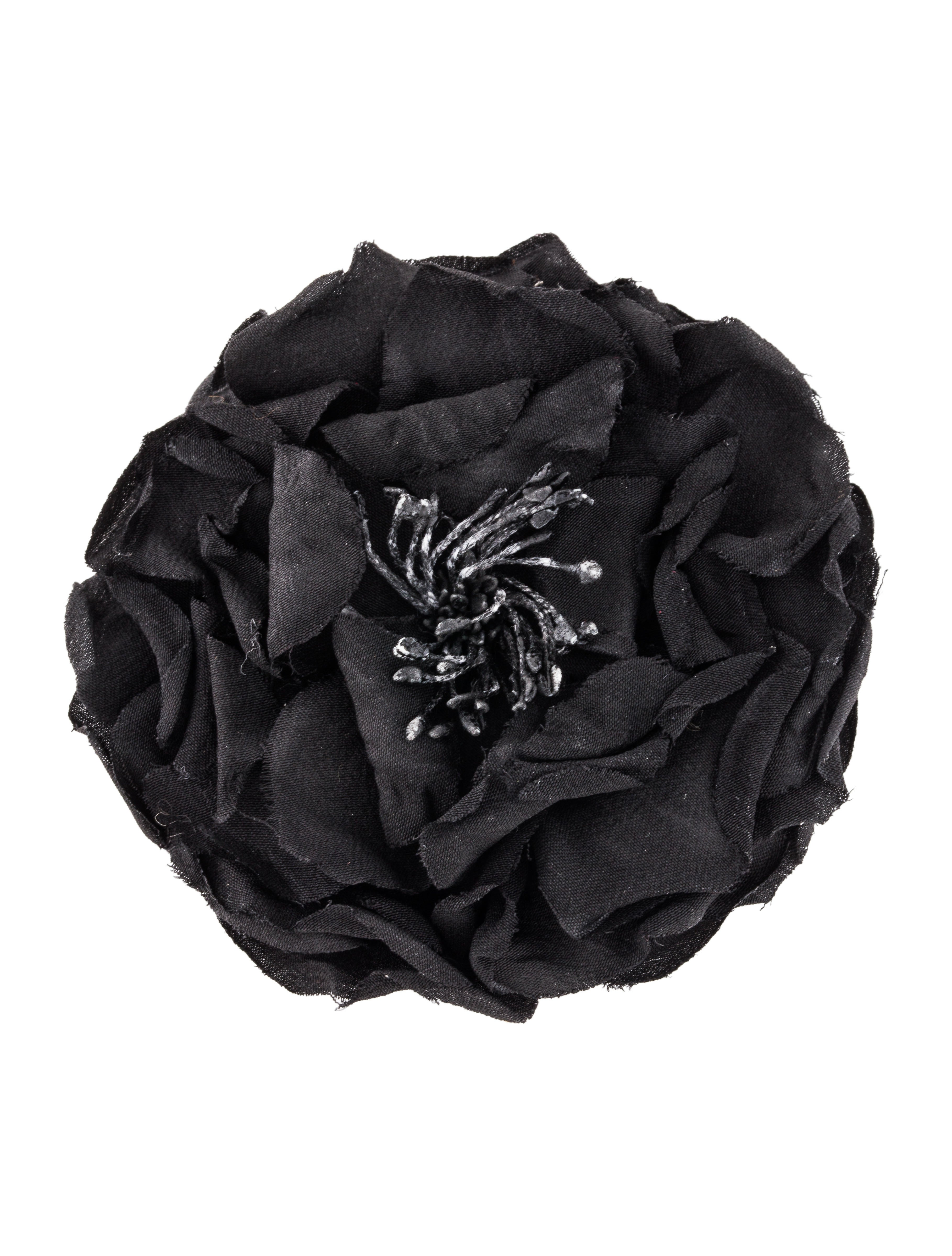 Gucci Silk Flower Pin Brooches Guc173804 The Realreal