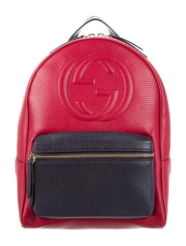 8cdcb7c14a Gucci Soho Leather Chain Backpack - Handbags - GUC173923