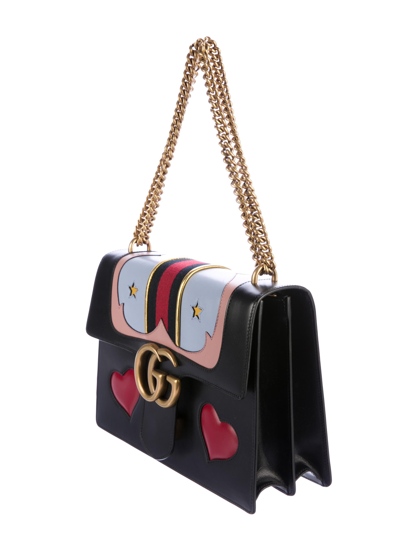 e519b68f87a Gucci Medium GG Marmont Web Bag - Handbags - GUC174274