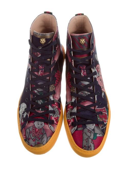 c248d1c8beba Gucci 2017 Donald Duck Jacquard Sneakers w/ Tags - Shoes - GUC176346 ...