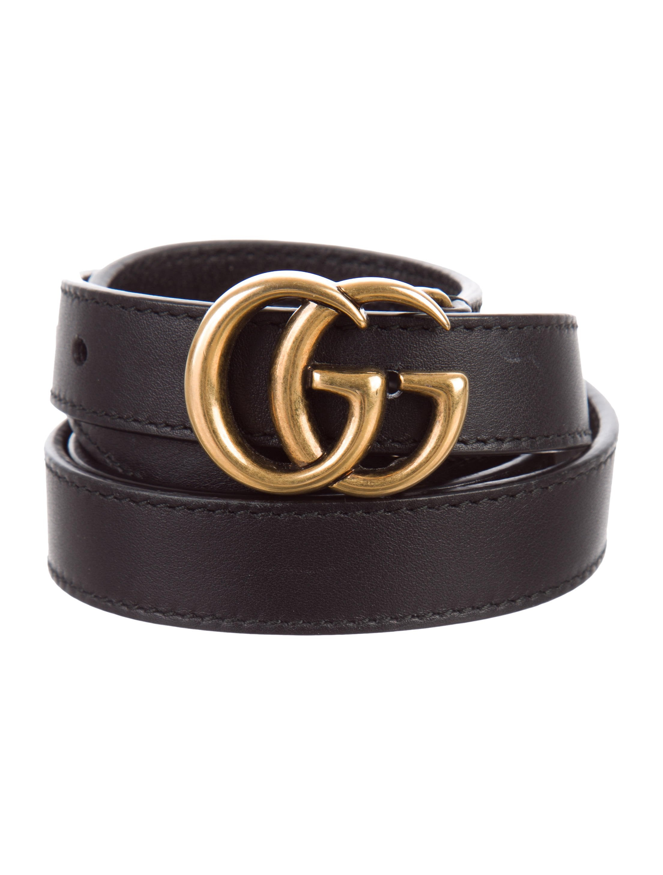 b932463099d2 Gucci Running GG Leather Belt - Accessories - GUC177259 | The RealReal