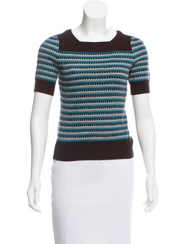 Gucci Wool Knit Top None