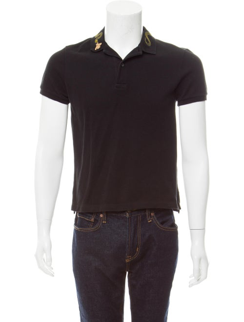 7514de7a Gucci Kingsnake Embroidered Polo - Clothing - GUC177622   The RealReal