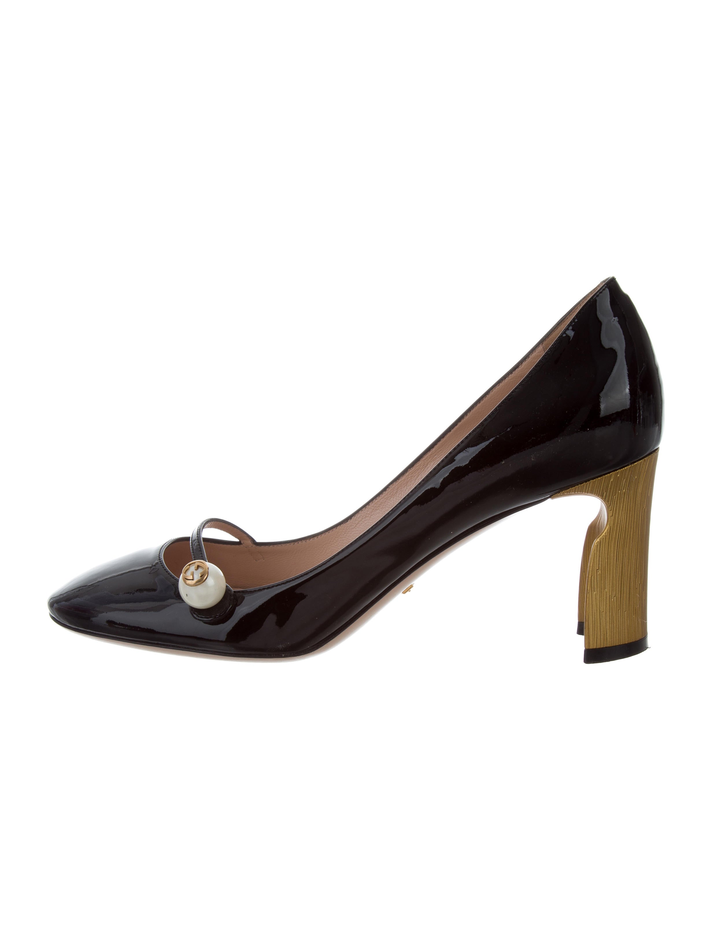 a9b16aaf42d9 Gucci Arielle Mary Jane Pumps - Shoes - GUC177655