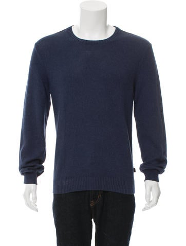 Gucci Rib Knit Crew Neck Sweater None