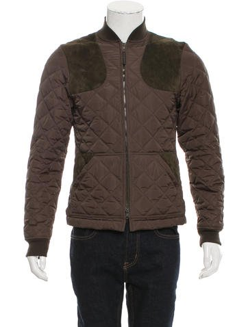 Gucci Quilted Bomber Jacket None