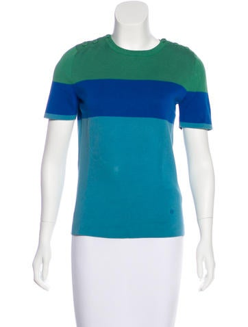 Gucci Knit Short Sleeve Sweater None