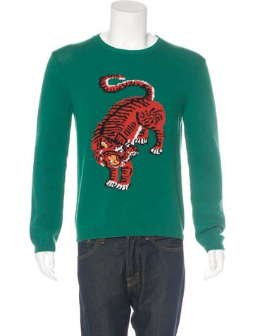 Gucci 2017 Bengal Wool Sweater None