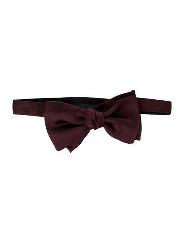 Gucci Silk Bow Tie None
