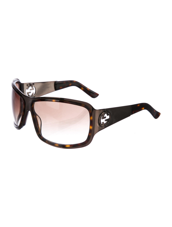 201494a20 Gucci Oversized GG Sunglasses - Accessories - GUC178680   The RealReal. Gucci  Rectangle Hazelnut Mauve Ladies Sunglasses GG 3644 / 0YF J6 ...