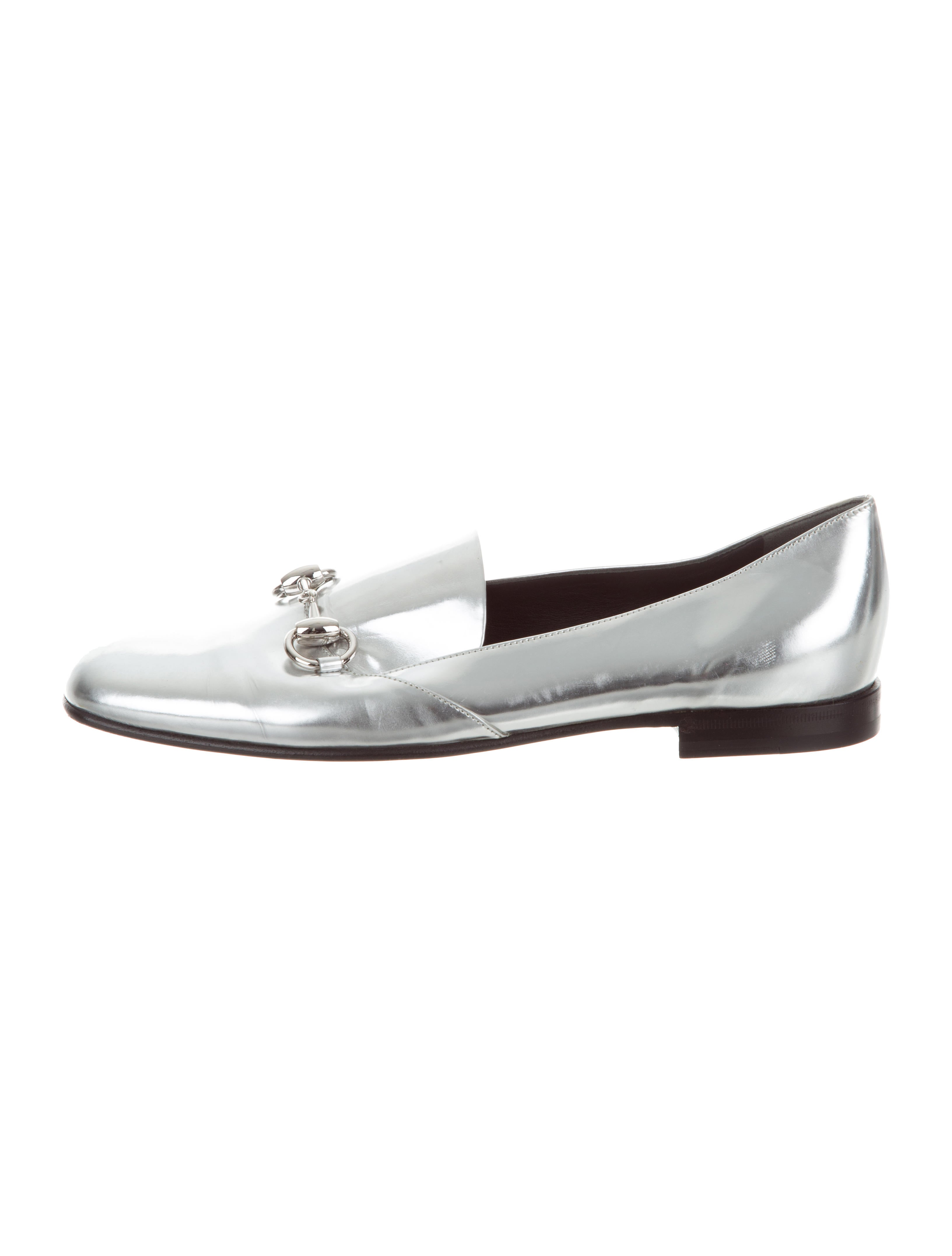 b44d0d3df2b Gucci Metallic Horsebit Loafers - Shoes - GUC179482