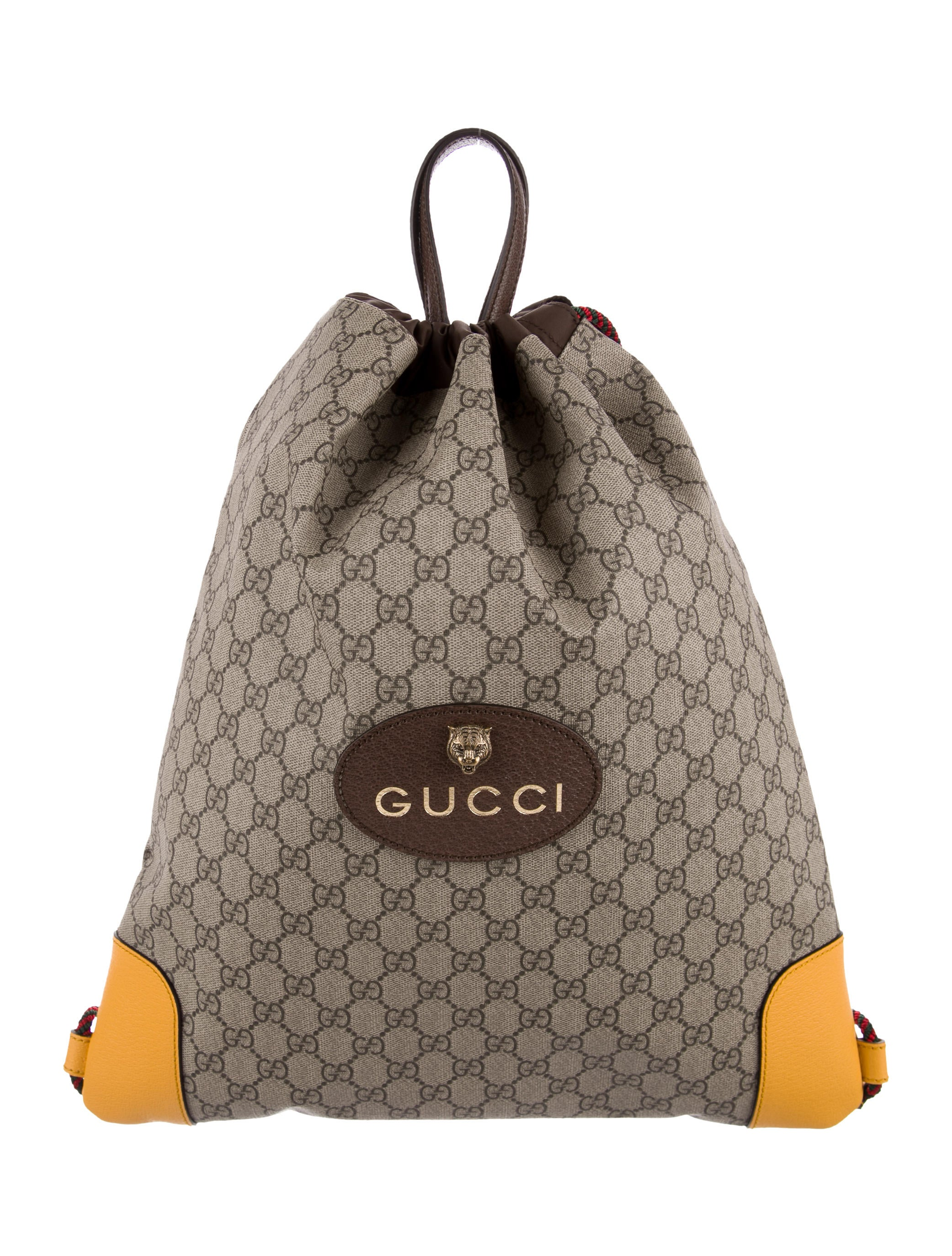 83ef62d96 Gucci 2017 GG Supreme Drawstring Backpack - Bags - GUC180138 | The ...