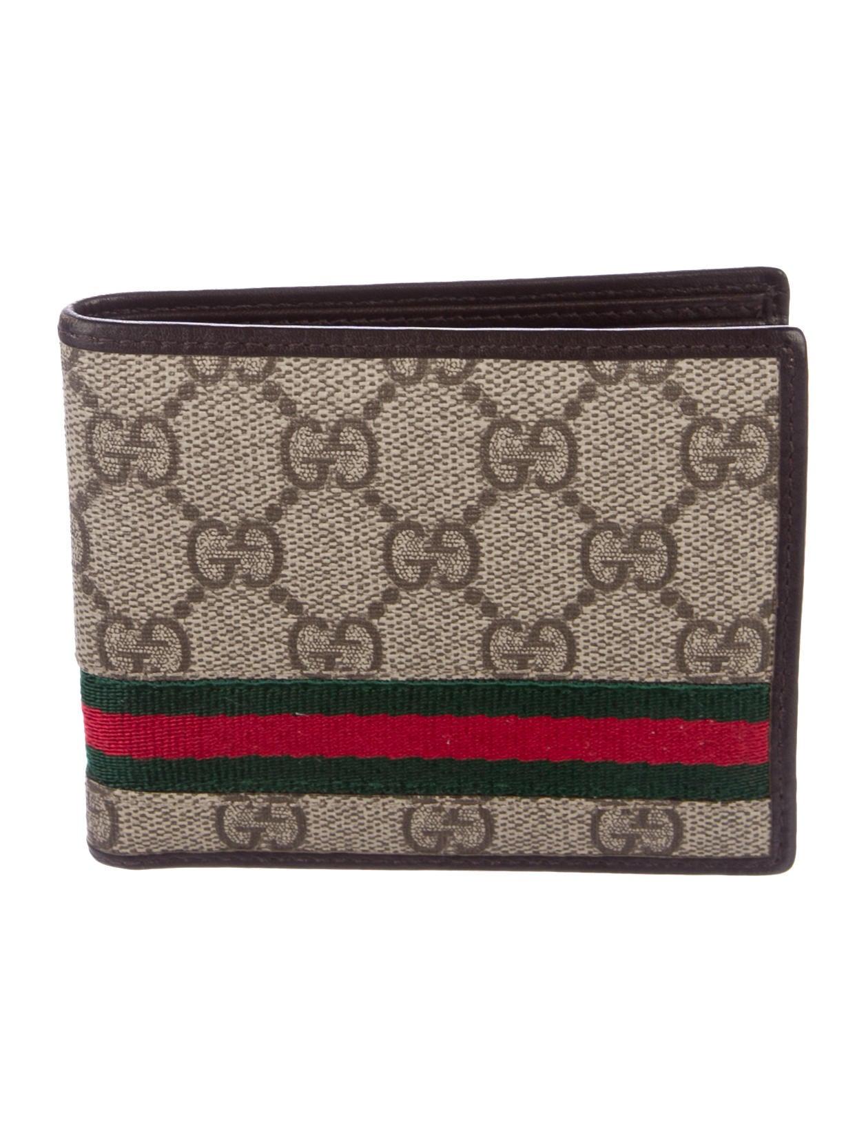91927a7aec0c Gucci GG Supreme Web Wallet - Accessories - GUC180200
