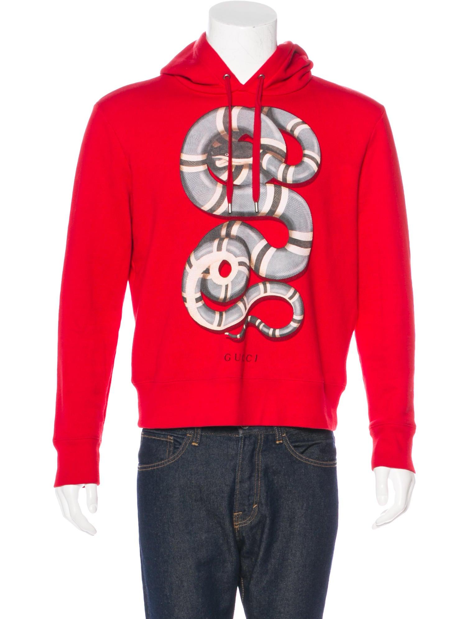 8f478d6ecf1 Gucci 2016 Kingsnake Hoodie - Clothing - GUC180260