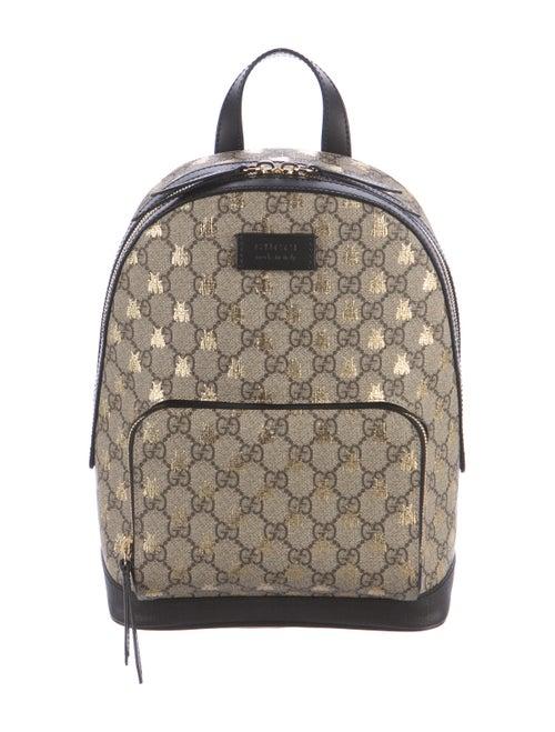 b3b7d044fe4 Gucci 2016 GG Supreme Bees Backpack - Handbags - GUC180656