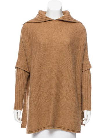Gucci Oversize Camel Sweater None