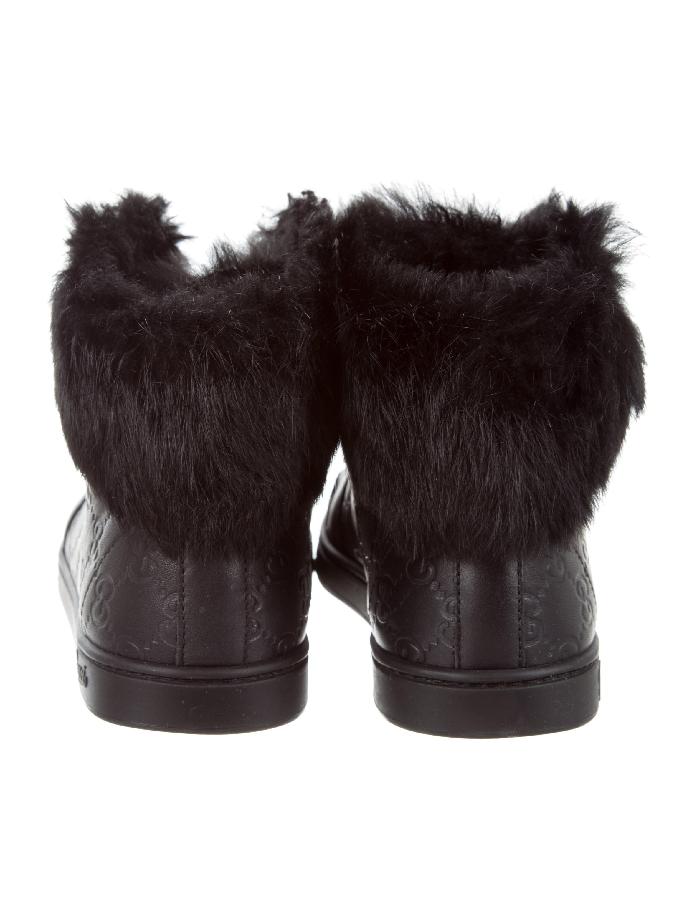 1ab32180bca Gucci Trainers With Fur