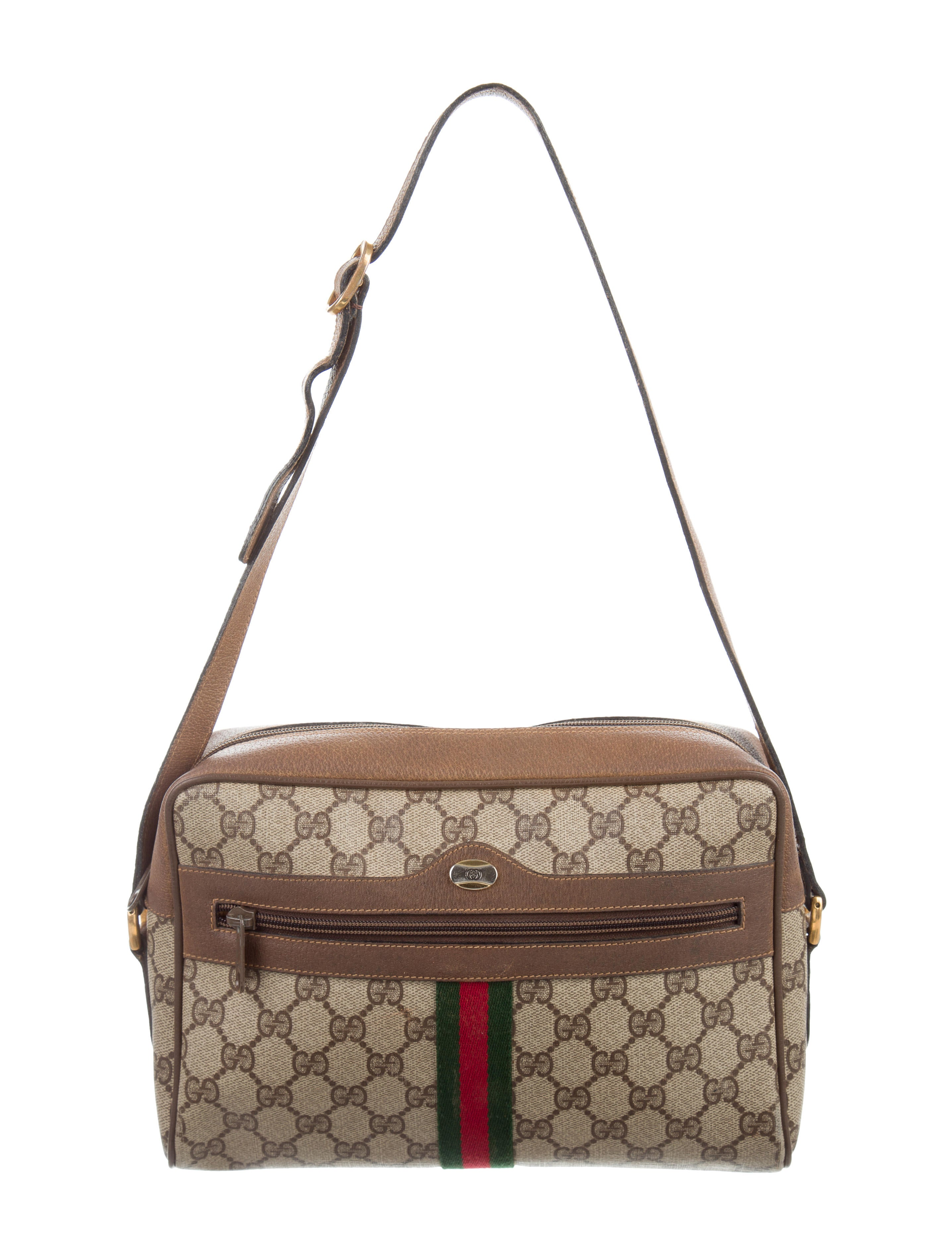 Gucci Vintage GG Plus Shoulder Bag - Handbags