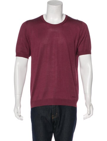 Gucci Silk Knit T-Shirt None