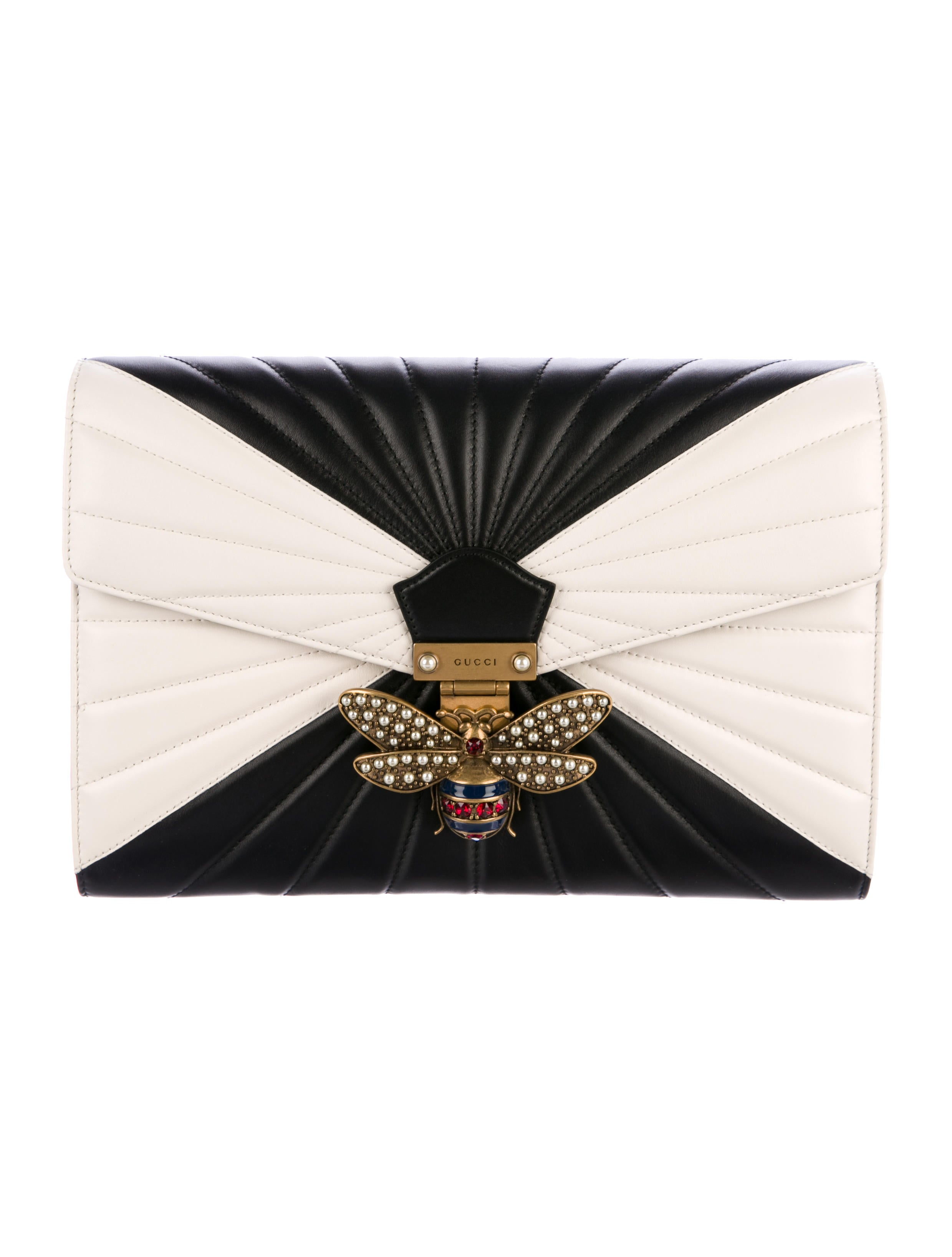 4d9d2a901e2 Gucci 2017 Queen Margaret Quilted Clutch - Handbags - GUC181508 ...