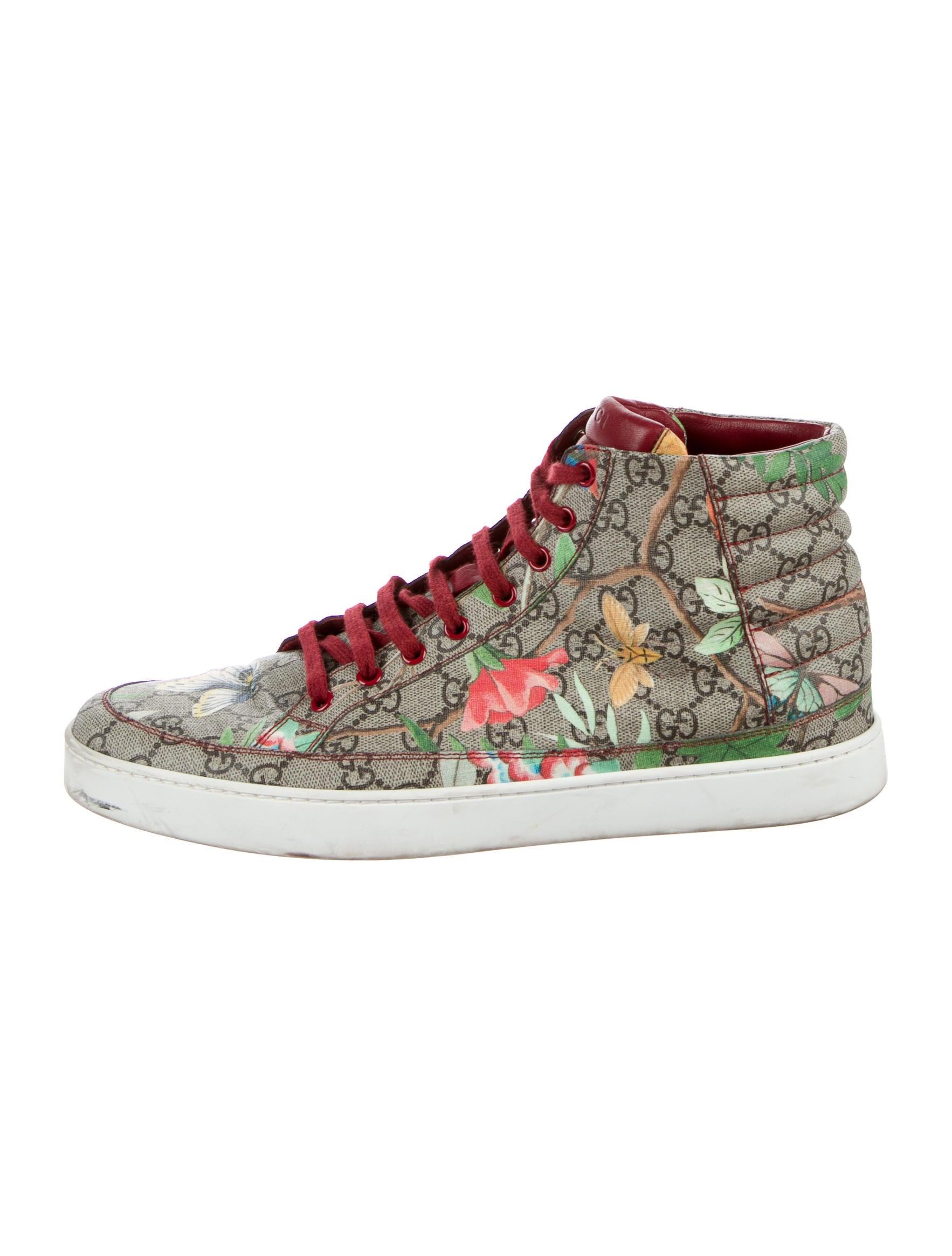 f036b19d97b Gucci Tian High-Top Sneakers - Shoes - GUC181863