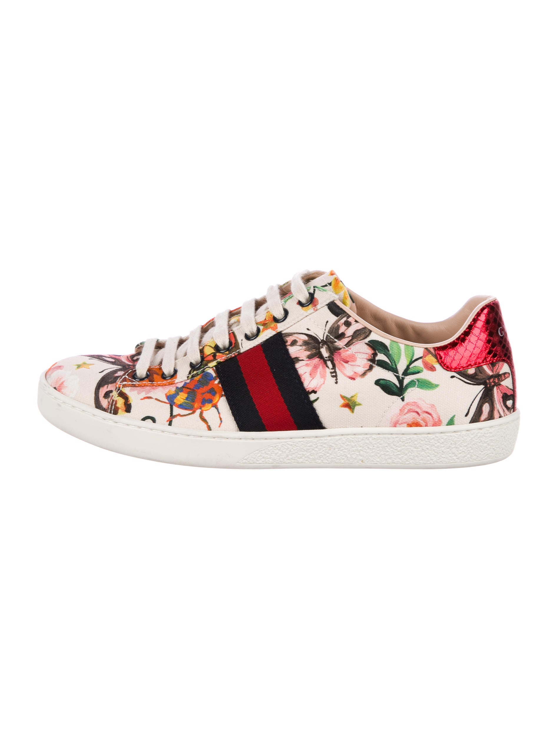 c73fc26cb38 Gucci Garden Exclusive Ace Sneakers - Shoes - GUC182069