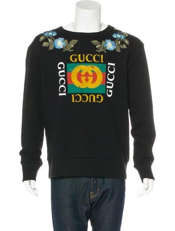 Gucci 2017 Embroidered Sweatshirt None