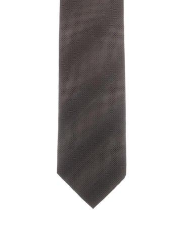 Gucci Patterned Silk Tie None