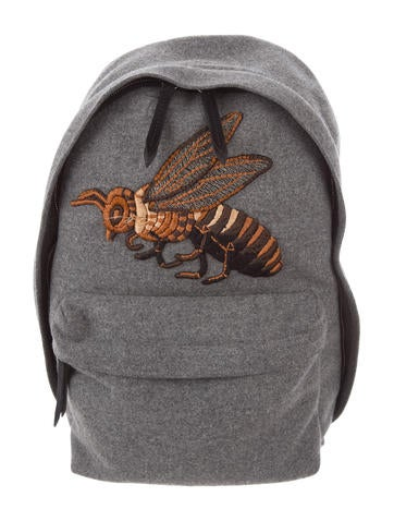 Gucci Beaded Sky Wool Backpack None