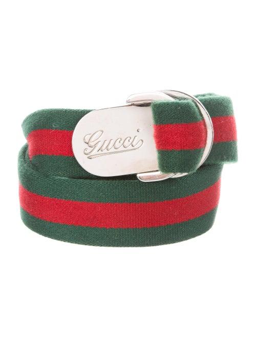 76d5ad574e7 Gucci D-Ring Buckle Web Belt - Accessories - GUC183642