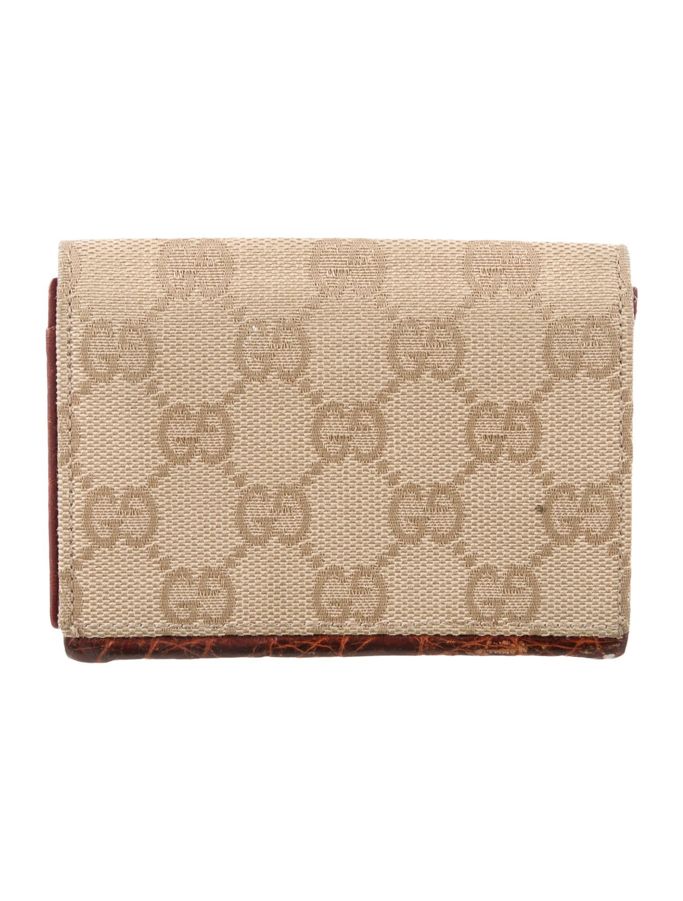 Gucci GG Canvas Card Holder - Accessories - GUC184493 | The RealReal