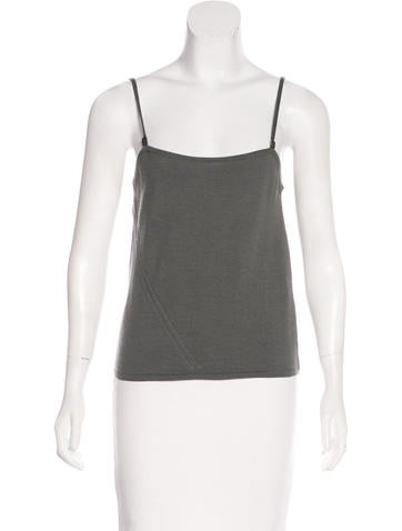 Gucci Rib Knit Wool Tank Top None
