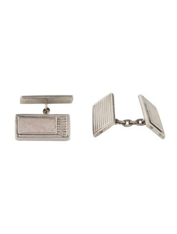 Gucci Ribbed Cufflinks None