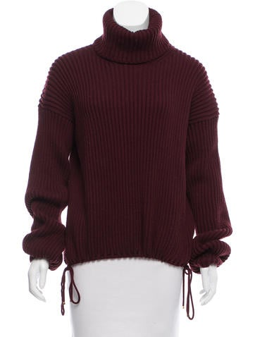 Gucci Wool Rib Knit Sweater None