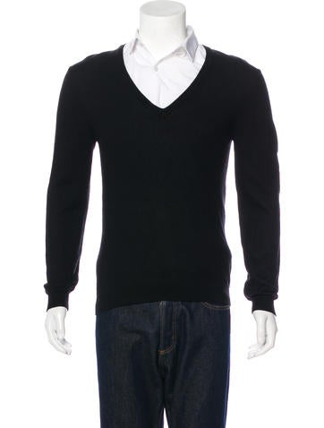 Gucci Web-Accented Wool Sweater None