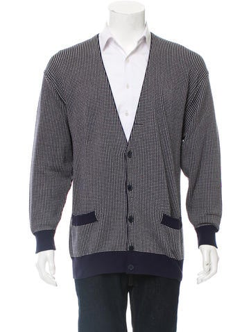 Gucci Patterned V-Neck Cardigan None