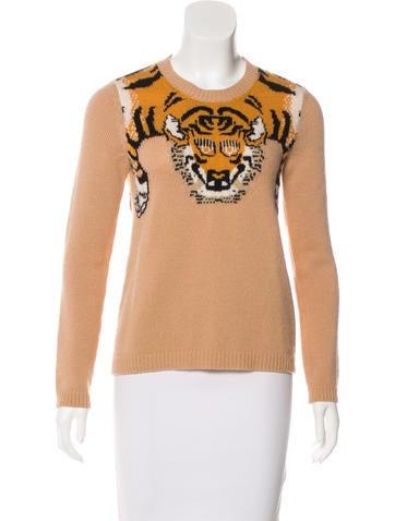 Gucci Intarsia Knit Sweater None