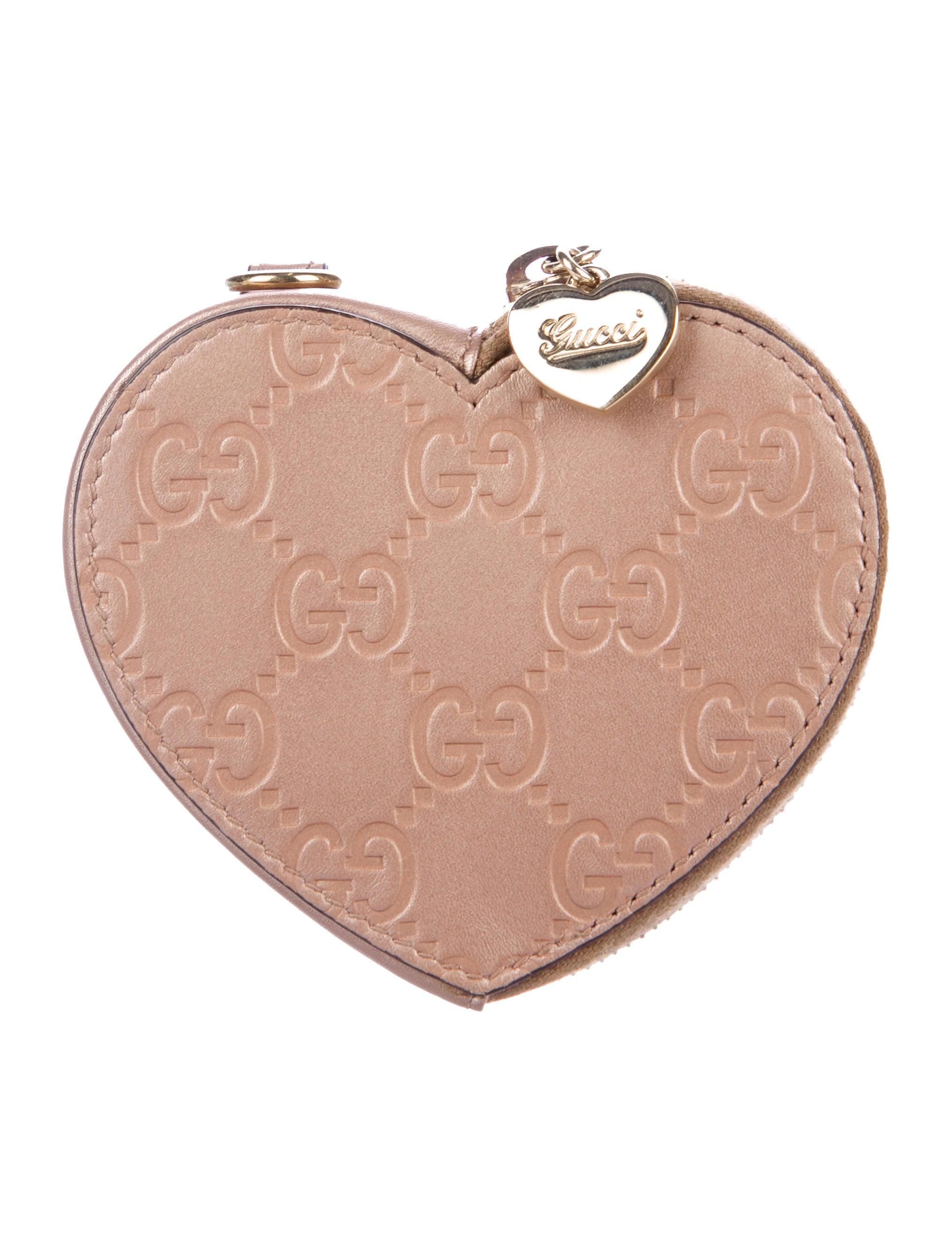 cd58a3b0c6a Gucci Guccissima Heart Coin Pouch - Accessories - GUC187813