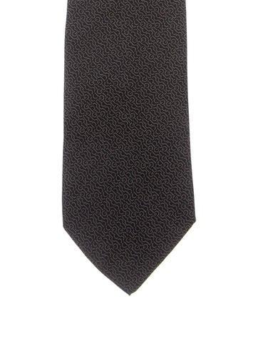 Gucci Silk Logo Tie None